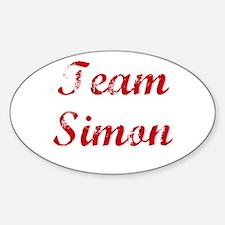 TEAM Simon REUNION Oval Decal