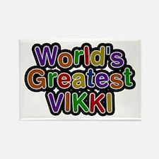 World's Greatest Vikki Rectangle Magnet