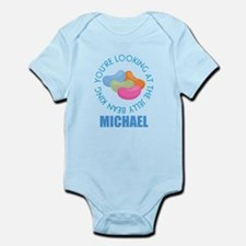 Easter Candy Personalized Boys Body Suit