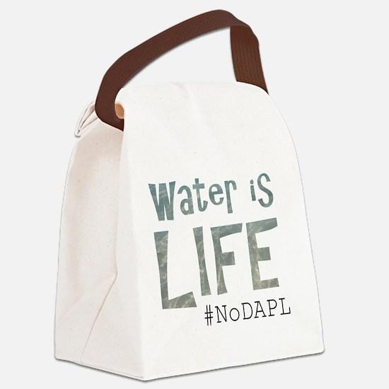 Cute Oil spill Canvas Lunch Bag