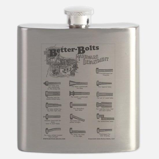 Unique Bolt Flask