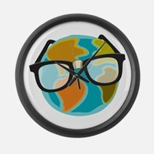 Nerds for the Earth Large Wall Clock