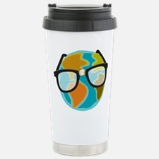 Nerds for the Earth Stainless Steel Travel Mug