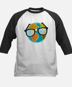 Nerds for the Earth Kids Baseball Jersey