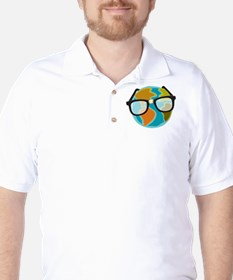 Nerds for the Earth Golf Shirt