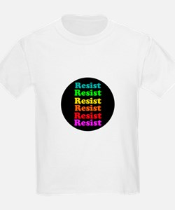 Resist Trump, gay pride T-Shirt