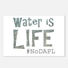 Water is Life - #NoKXL, # Postcards (Package of 8)
