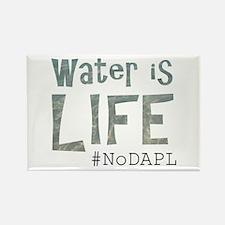 Water is Life - #NoKXL, #NoDAPL Magnets