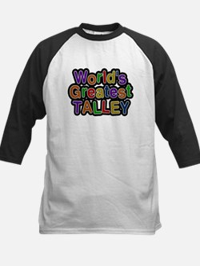 Worlds Greatest Talley Baseball Jersey