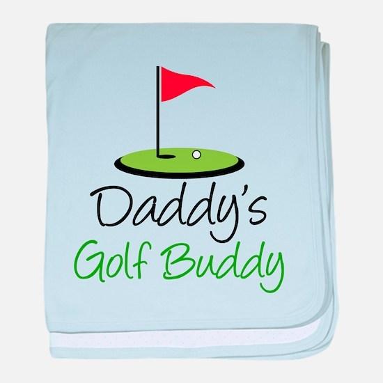 Daddy's Golf Buddy baby blanket
