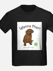 WannaPlayChocoLab.jpg T-Shirt