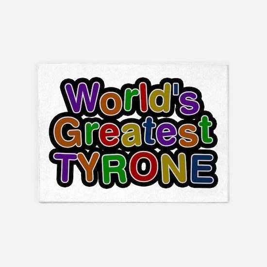 World's Greatest Tyrone 5'x7' Area Rug