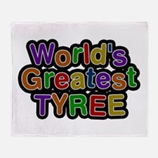 World's Greatest Tyree Throw Blanket