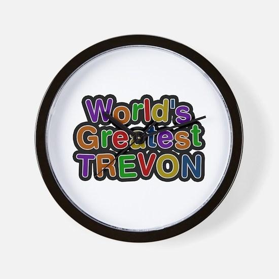 World's Greatest Trevon Wall Clock