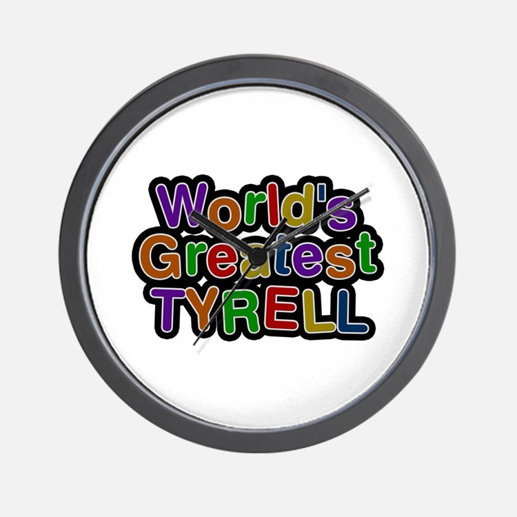 World's Greatest Tyrell Wall Clock