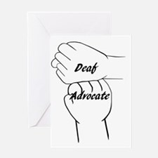 Deaf Advocate Greeting Cards
