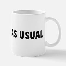 Business as usual Mug