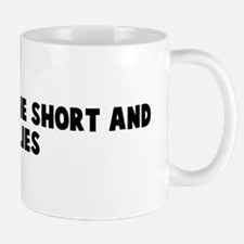 Caught by the short and curli Mug