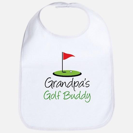 Grandpa's Golf Buddy Baby Bib