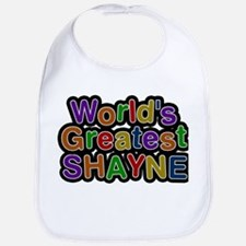 Worlds Greatest Shayne Baby Bib