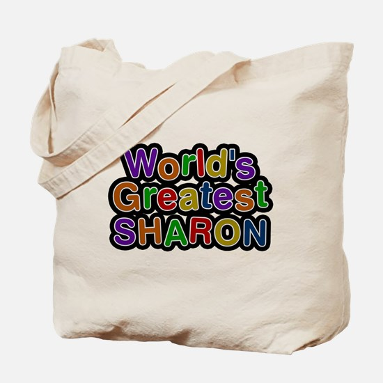 Worlds Greatest Sharon Tote Bag