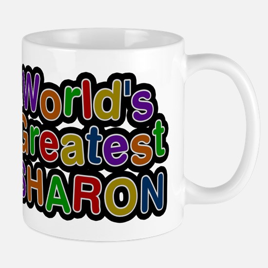 Worlds Greatest Sharon Mugs