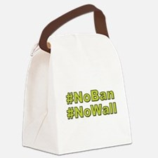 NoBan NoWall Canvas Lunch Bag