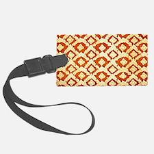 Asian Ornamental Pattern Luggage Tag