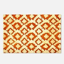 Asian Ornamental Pattern Postcards (Package of 8)