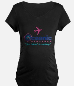 Oceanic Airlines Maternity T-Shirt