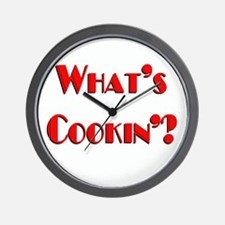 """What's Cookin'?"" Wall Clock"