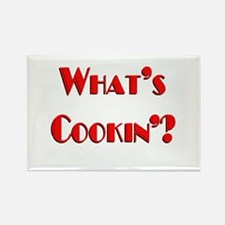 """""""What's Cookin'?"""" Rectangle Magnet"""
