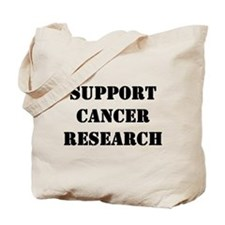 Support Cancer Research Tote Bag