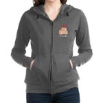 I Love Crocks Women's Zip Hoodie