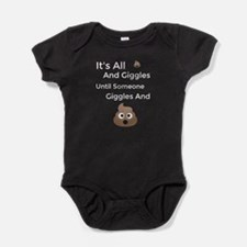 Shits and Giggles Poo Emoji Body Suit
