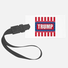 Trump - American Flag Luggage Tag