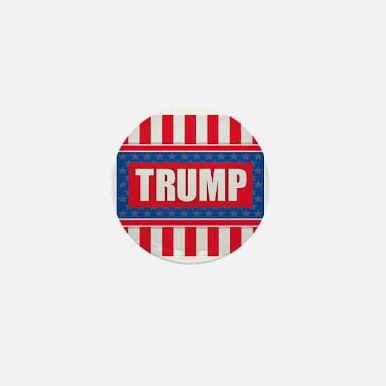 Trump - American Flag Mini Button