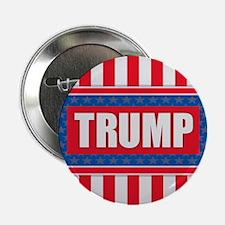 "Trump - American Flag 2.25"" Button"