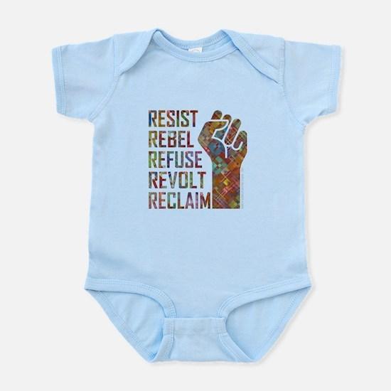 RESIST, REBEL... Body Suit