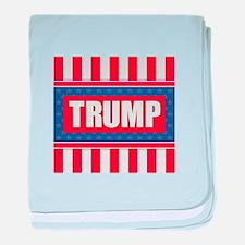 Trump - American Flag baby blanket