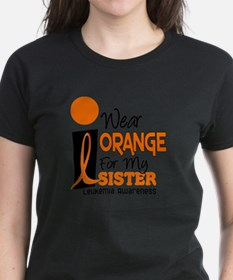 I Wear Orange For My Sister 9 Leuk T-Shirt