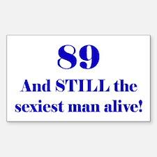 89 Still Sexiest 2 Blue Decal