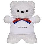 Cast the first stone Teddy Bear