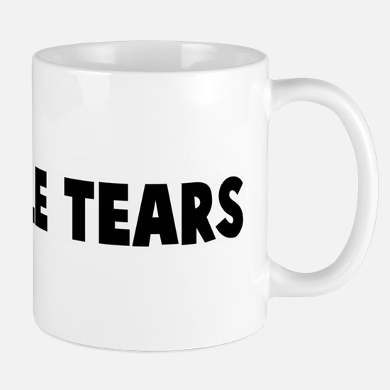 Crocodile tears Mug