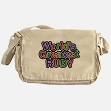 Worlds Greatest Rudy Messenger Bag