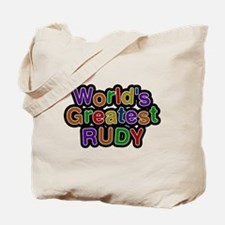 Worlds Greatest Rudy Tote Bag