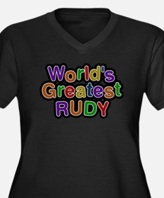 Worlds Greatest Rudy Plus Size T-Shirt