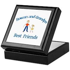 Rowan & Grandpa - Best Friend Keepsake Box