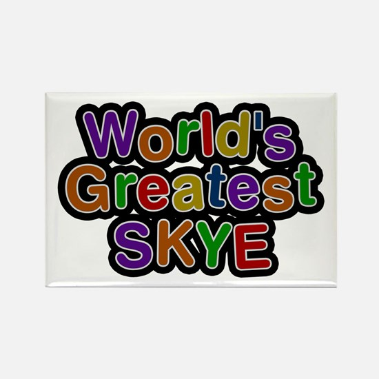 World's Greatest Skye Rectangle Magnet