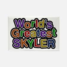 World's Greatest Skyler Rectangle Magnet